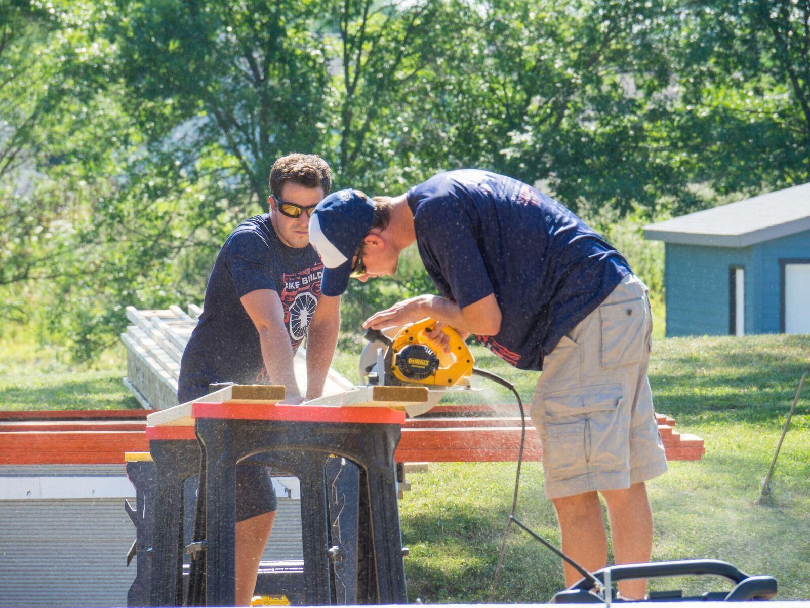 Bike and Build Miter Saw